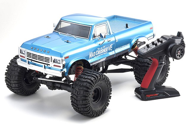 Kyosho Updates The 4wd Mad Crusher VE Monster Truck Readyset
