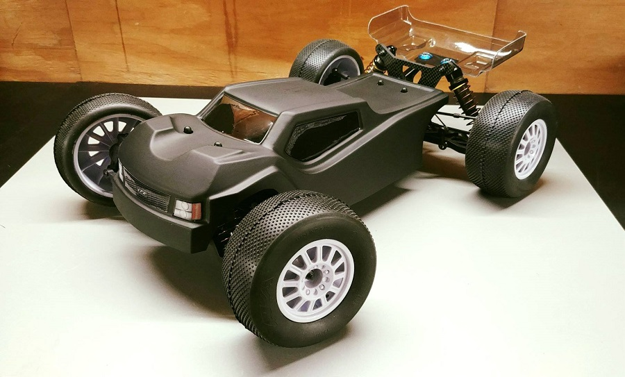 Leadfinger Racing Strife Clear Body For The Tekno ET410