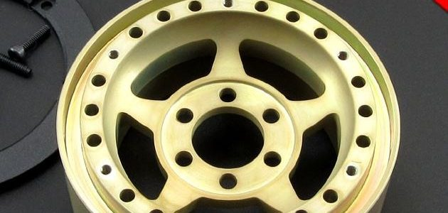 Locked Up RC Paintable 1.9″ SLW Golden Chromate Wheels