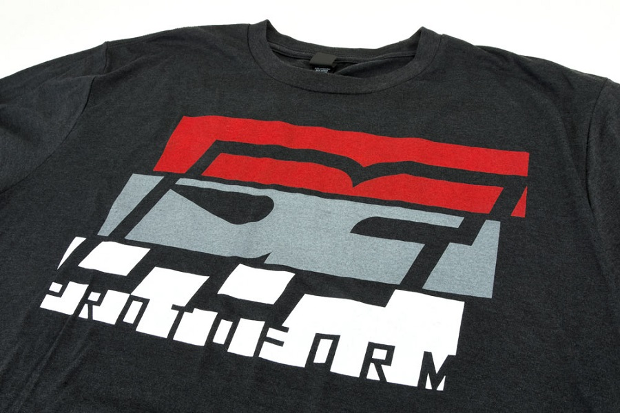 PF Slice Black Tri-Blend T-Shirt