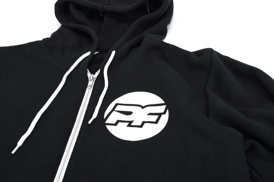 PROTOform Bona Fide Black Zip-Up Hoodie