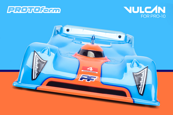PROTOform Vulcan Clear Body
