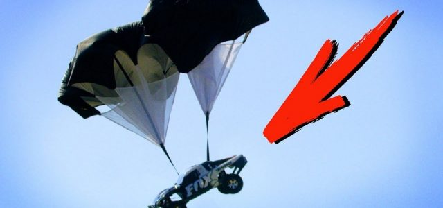 Parachutes for RC Cars Need to Be a Thing [VIDEO]