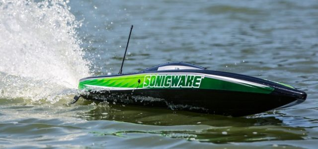 Pro Boat Sonicwake RTR 36″ Self-Righting Deep-V Brushless [VIDEO]