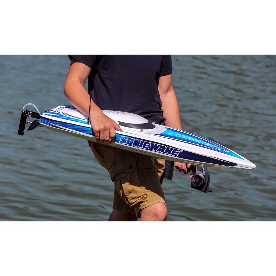 """Pro Boat Sonicwake RTR 36"""" Self-Righting Deep-V Brushless"""