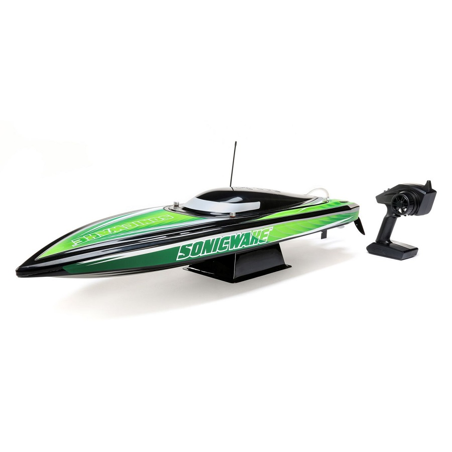 "Pro Boat Sonicwake RTR 36"" Self-Righting Deep-V Brushless"