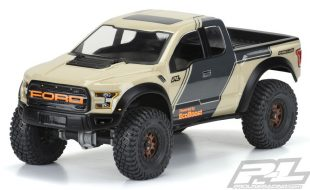 Pro-Line 2017 Ford F-150 Raptor Crawler Clear Body [VIDEO]