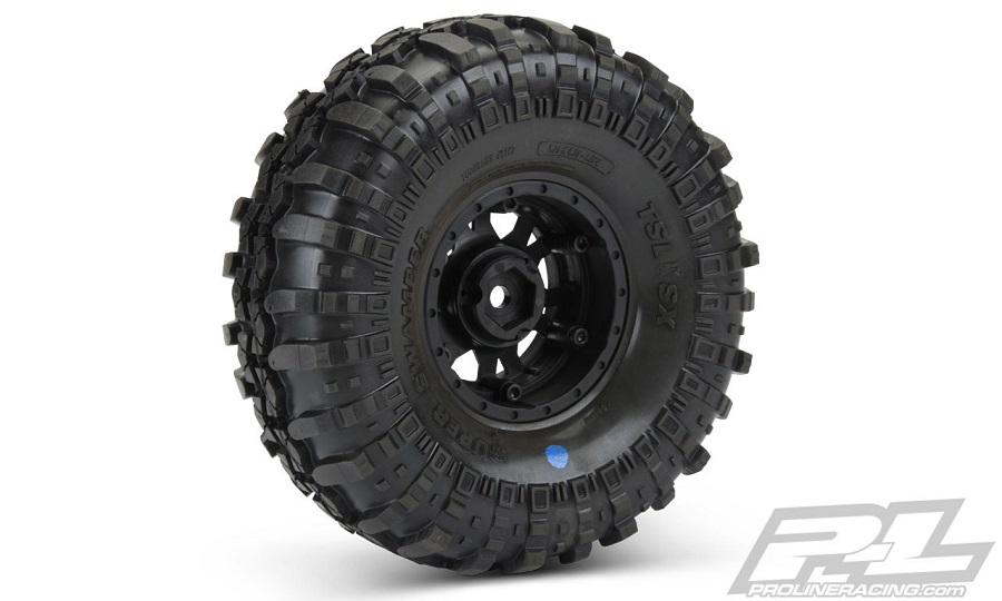 Pro-Line Mounted Interco TSL SX Super Swamper XL 1.9 G8 Rock Terrain Truck Tires