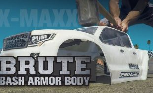 Pro-Line Pre-Cut Brute Bash Armor Body For The Traxxas X-MAXX [VIDEO]