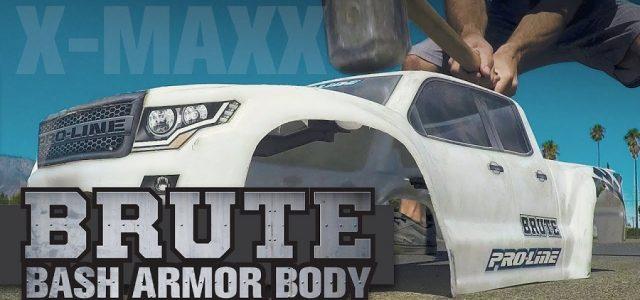 Pro-Line Pre-Cut Brute Bash Armor Body For The Traxxas X-MAXX [VIDEO]