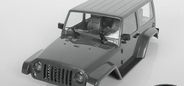RC4WD Black Rock Body Set For The 1/18 Gelande II