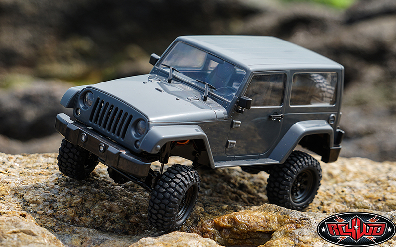 RC4WD Black Rock Body Set For The 1/18 Gelande II