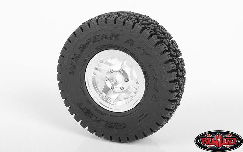 RC4WD TRunner Classic 1.55'' Beadlock Wheels