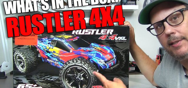 Unboxed: Traxxas Rustler 4X4 VXL [VIDEO]