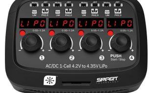 Spektrum Micro 4-port AC/DC 1S LiPo Charger