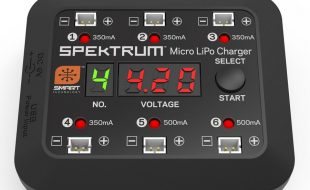 Spektrum Micro 6-port DC/USB 1S LiPo Charger