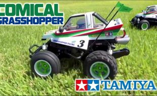 Tamiya Comical Grasshopper [VIDEO]