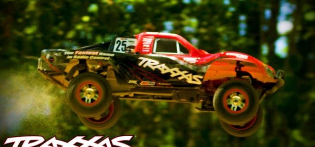 Traxxas Slayer Pro 4X4 Nitro Short Course Jump Session [VIDEO]