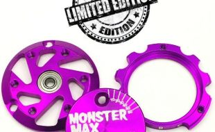 """Trinity Limited Edition Purple Monster """"Max"""" End Plate Set"""