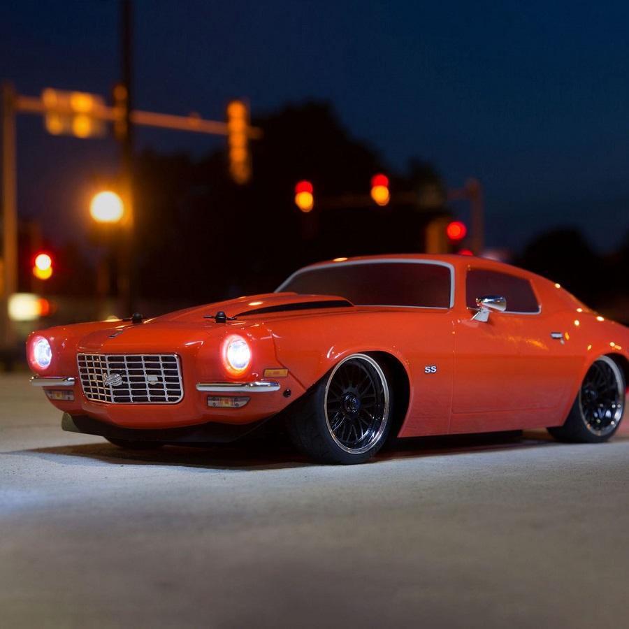 Vaterra 1972 Chevy Camaro Ss V100 Rtr 1 10 4wd Video