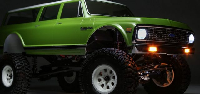 Vaterra 1972 Chevy Suburban Ascender-S RTR 1/10 4WD [VIDEO]