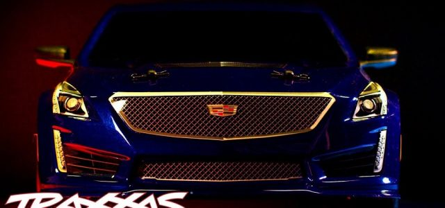 Cadillac CTS-V Body For The Traxxas 4-Tec 2.0 [VIDEO]