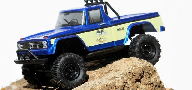 Carisma Releases New Coyote & Subaru RTR 1/24 Crawlers