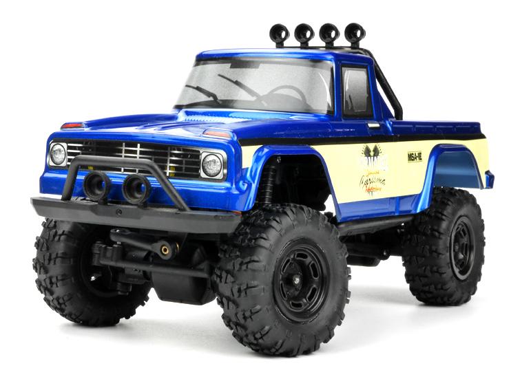 Carisma Releases New Coyote & Subaru RTR 124 Crawlers