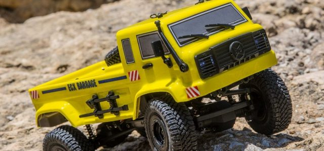 ECX RTR 1/24 Barrage UV 4WD Scaler Crawler [VIDEO]