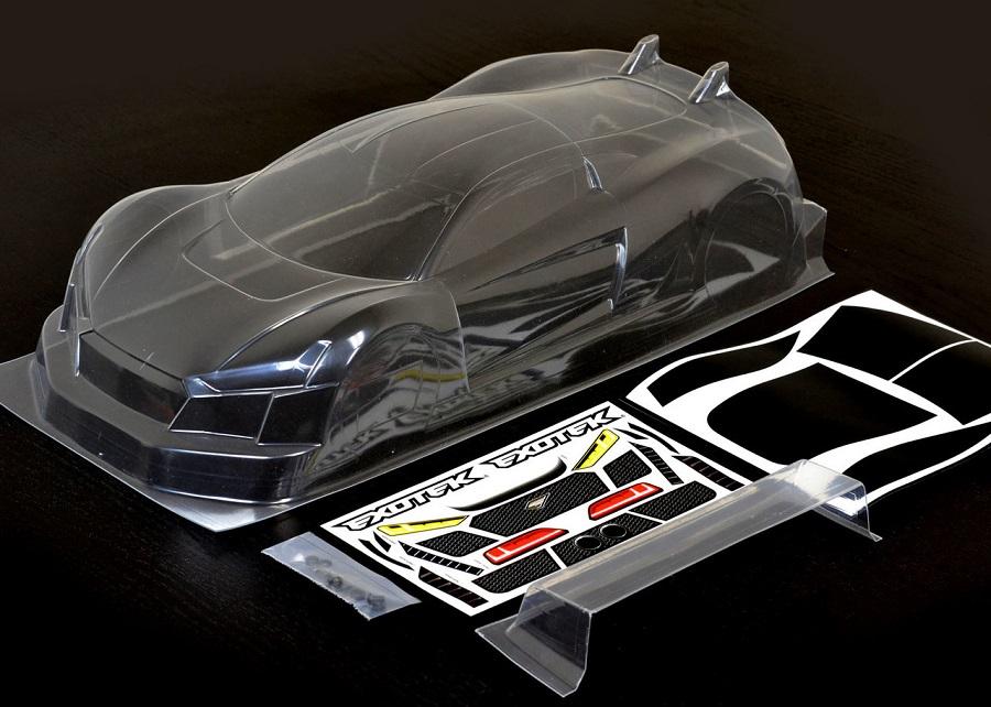 Exotek R Tek GT Clear 190mm Body