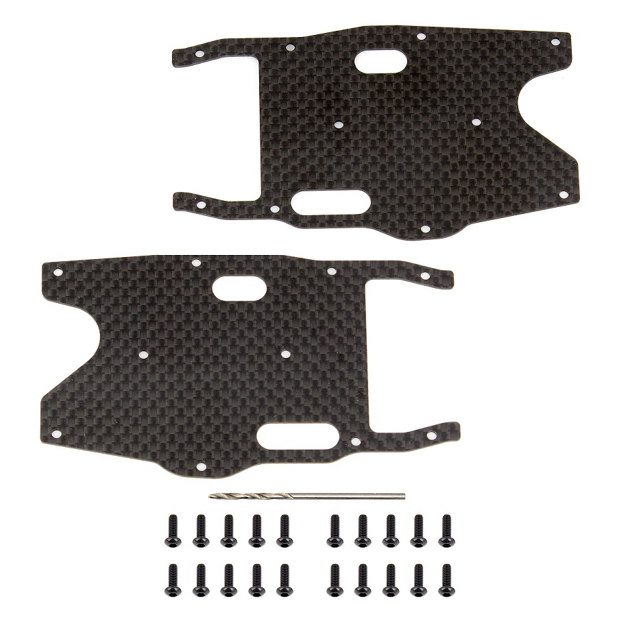 Factory Team Graphite Arm Stiffeners For The RC8B3.1 & T3.1