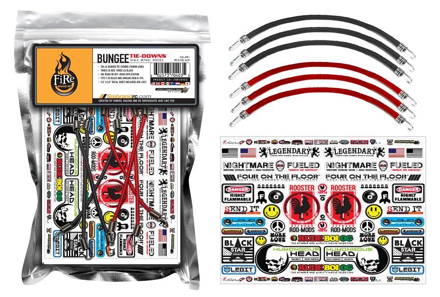 FireBrand Bungee Tie-Down Set
