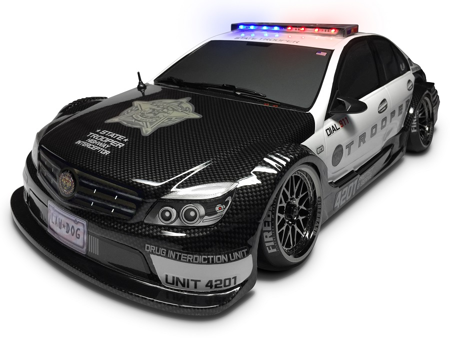 FireBrand RC State Trooper Lights