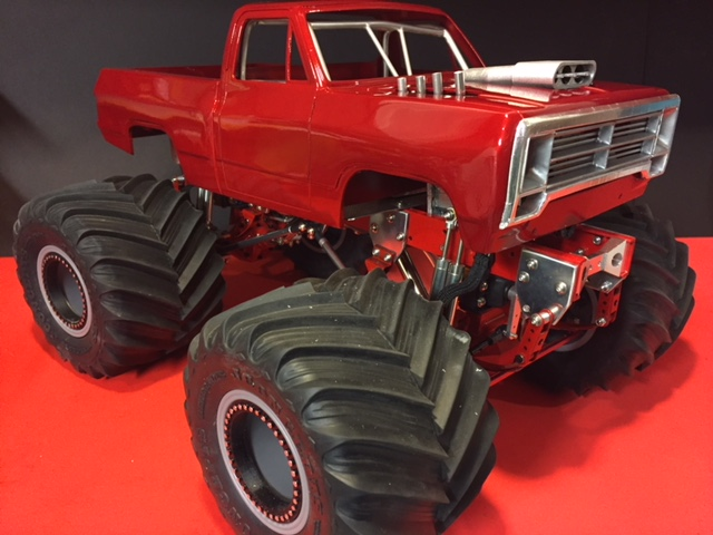 Monster Jam, Vintage Monster Truck, Big Foot, RC Monster Truck, JConcepts Renegade, Crawford Engineering, Tamiya Clod Buster, Axial SCX10, Mopar, Dodge Ram, SSD