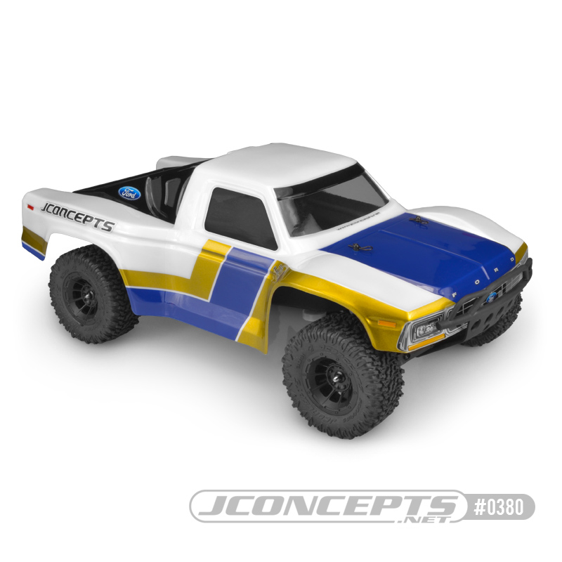 JConcepts 1979 Ford F-250 SCT Clear Body