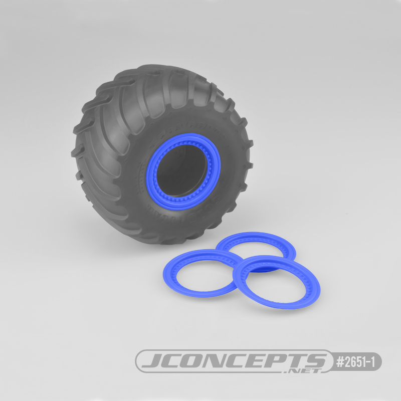 JConcepts Tribute Wheel Mock Beadlock Rings