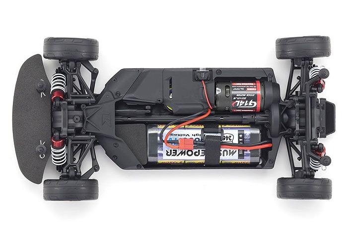 Kyosho ReadySet Fazer MK2 Dodge Hellcat Purple Challenger SRT 2015