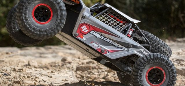Losi Super Rock Rey AVC 1/6 4WD RTR Rock Racer [VIDEO]