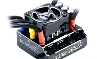 Muchmore FLETA M8 V2 Competition 180A Black 1/8 Brushless ESC