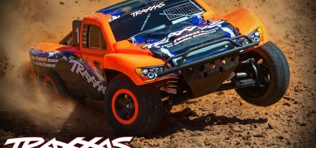 New Race Replica Options For The Traxxas Slash 4X4 VXL [VIDEO]
