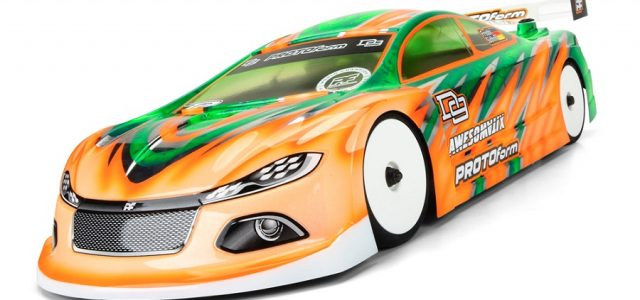 PROTOform D9 190mm Electric Touring Car Clear Body
