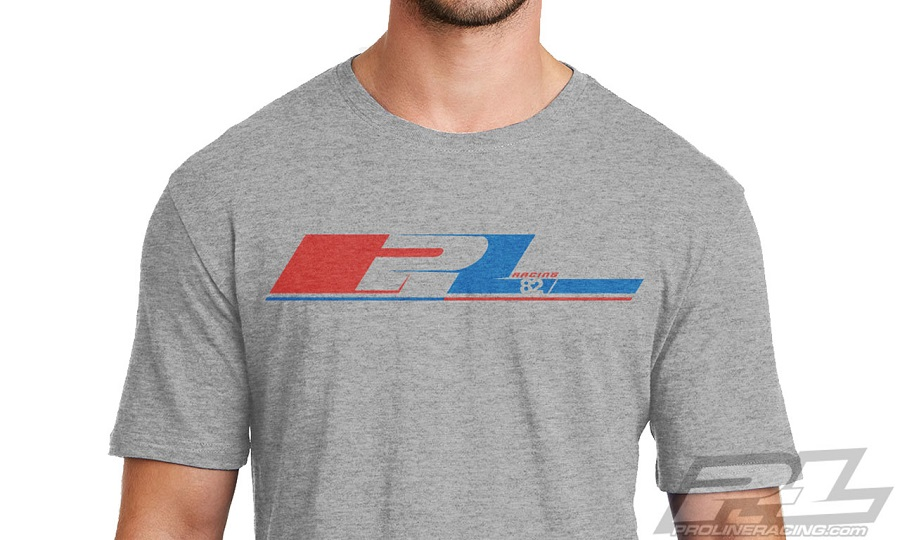 Pro-Line 82 Rewind Light Gray T-Shirt