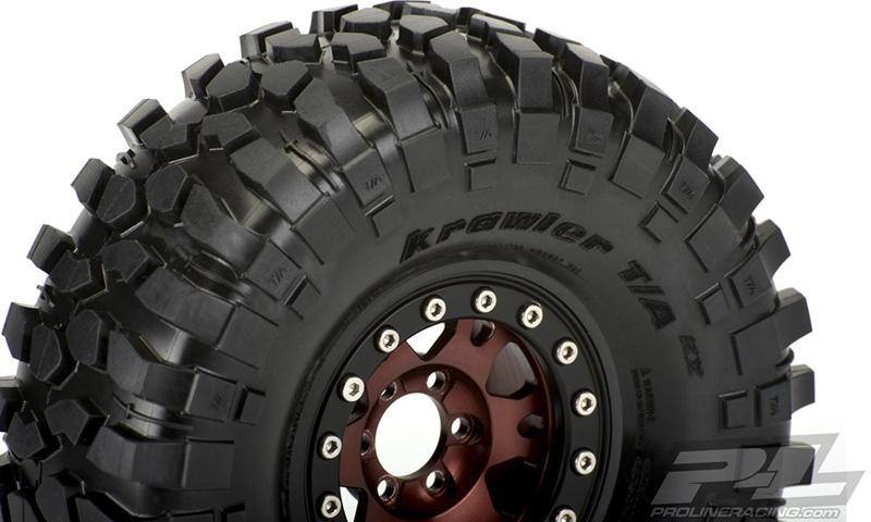 "Pro-Line BFGoodrich Krawler T/A KX (Red Label) 1.9"" Predator Tires"