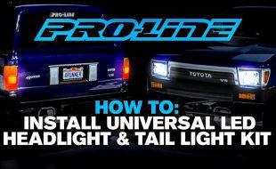Pro-Line HOW TO: Install Universal LED Headlight & Tail Light Kit [VIDEO]