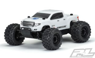 Pro-Line Pre-Cut Brute Bash Armor White Body For PRO-MT 4×4 & Stampede 4×4