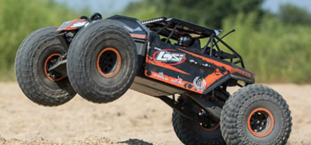 Losi Rock Rey BND 1/10 4WD Rock Racer [VIDEO]