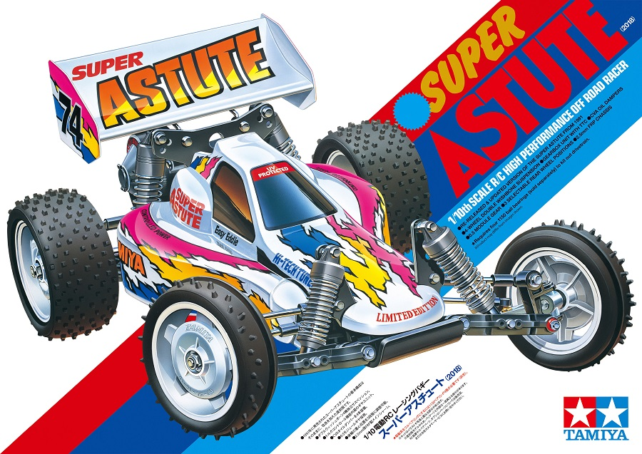 Tamiya Limited Edition 2018 Super Astute 2wd Buggy Kit