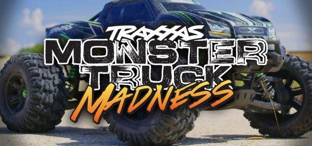 Traxxas Monster Truck Madness [VIDEO]