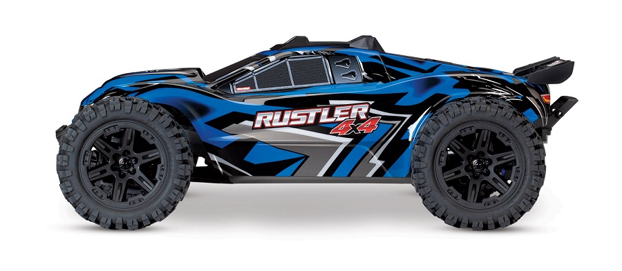 Traxxas Rustler 4X4 Now With Titan Power