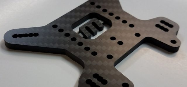 VRP Updates 4mm Carbon Fiber Rear Tower For The MBX8